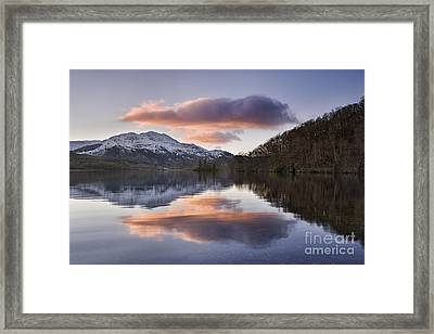 Loch Achray And Ben Venue 2 Framed Print by Rod McLean