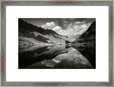 Loch Achtriochtan Framed Print by Dave Bowman
