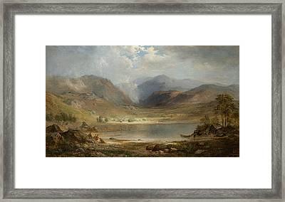 Loch Long Framed Print by Robert Seldon Duncanson