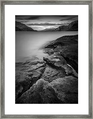 Loch Maree Framed Print by Dave Bowman