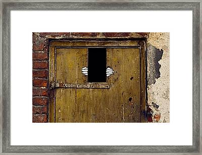 Locked In Emptiness Framed Print by Tgchan