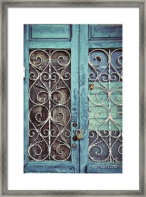 Locked Out Framed Print by Ana V  Ramirez