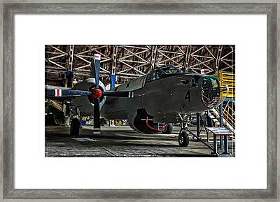 Lockheed P2v Neptune Framed Print by Thom Zehrfeld