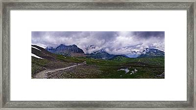 Logans Pass Framed Print by Christopher Lugenbeal