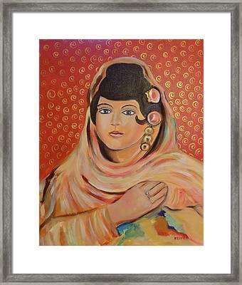 Lola Framed Print by John Keaton