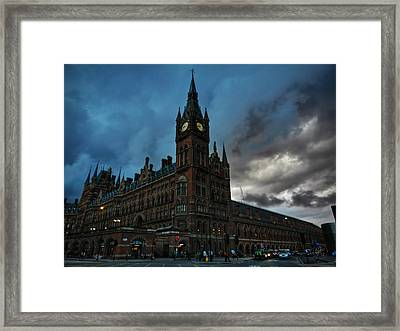 London 011 Framed Print by Lance Vaughn