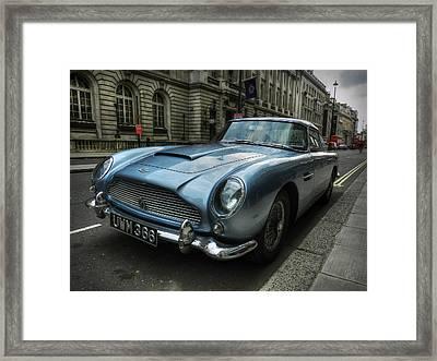 London 043 Framed Print by Lance Vaughn
