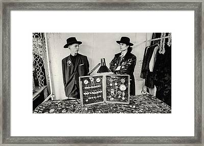 London 85 Two Camden Guys Framed Print by Philippe Taka