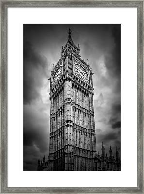 London Big Ben Framed Print by Melanie Viola