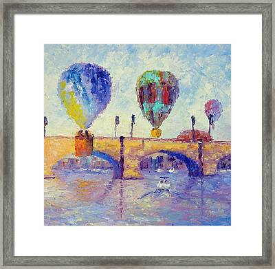 London Bridge Framed Print by Terry  Chacon
