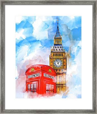 London Dreaming Framed Print by Mark E Tisdale