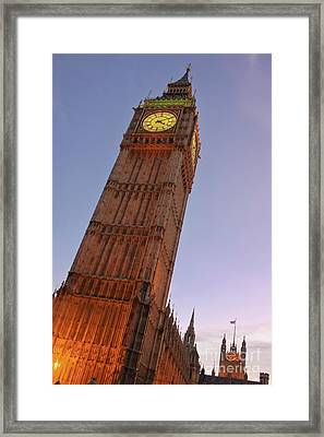 London Icon Framed Print by Terri Waters