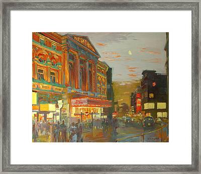 London Night  Framed Print by William Ireland