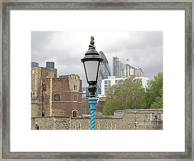 London Old And New Framed Print by Ann Horn