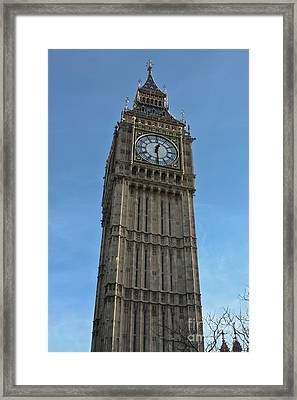 London Time Framed Print by Terri Waters