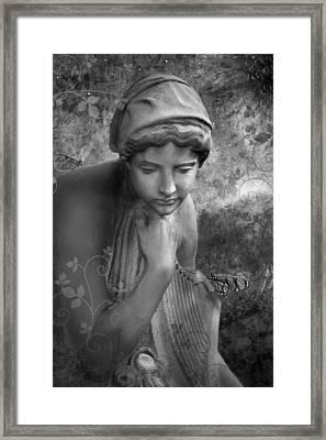 Loneliness Framed Print by Marc Huebner