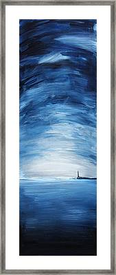 Lonely Beacon Framed Print by Brian Behm