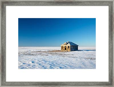 Lonely Place Framed Print by Todd Klassy