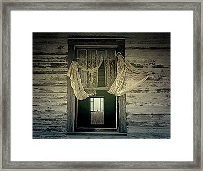 Lonely Wind Framed Print by JC Photography and Art