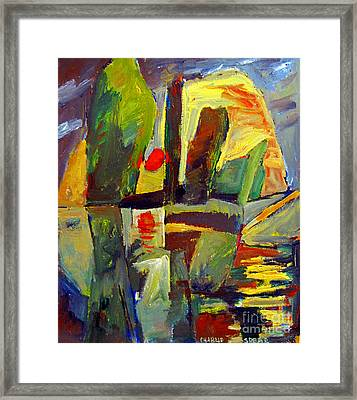 Long Bow Framed Print by Charlie Spear