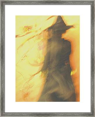 Long Cool Woman In A Black Dress Framed Print by Susie DeZarn