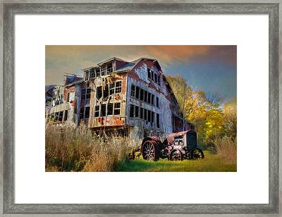 Long Forgotten Framed Print by Lori Deiter