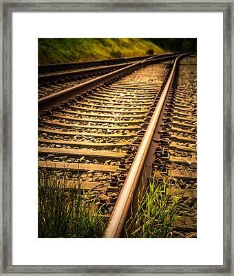 Long Gone Framed Print by Odd Jeppesen