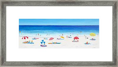Long Hot Summer Framed Print by Jan Matson
