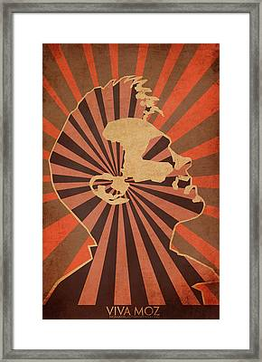 Long Live Morrisey Framed Print by Nelson Garcia