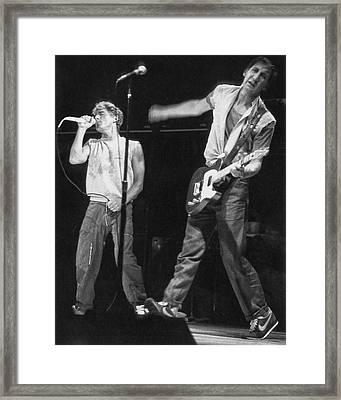 Long Live Rock Framed Print by Jurgen Lorenzen