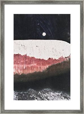 Long Night Slow Moon Framed Print by Ryan Kelly