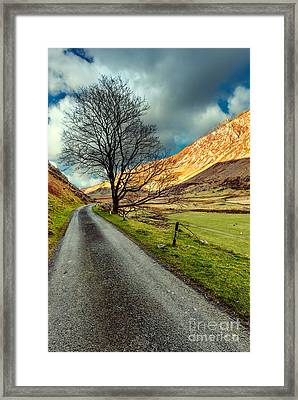 Long Road Home Framed Print by Adrian Evans