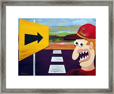 Long Road Home Framed Print by Sal Marino