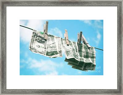 Look How Much A Dollar Buys Framed Print by Sharon Mau