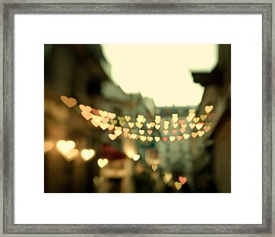 Looking For Love Framed Print by Irene Suchocki
