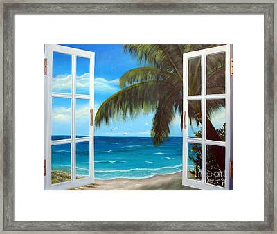 Looking Out Framed Print by Darlene Green