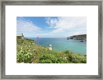 Looking Out To Sea Framed Print by Terri Waters