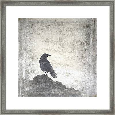 Looking Seaward Framed Print by Carol Leigh