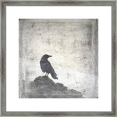 Looking Seaward Framed Print by Carol Leigh