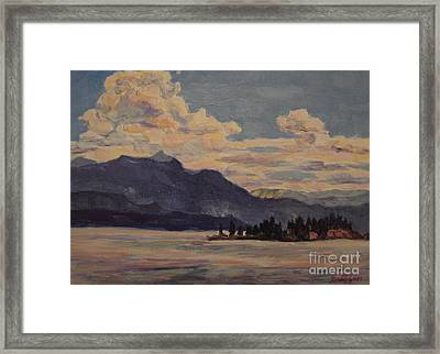 Looking South East Framed Print by Patricia A Griffin