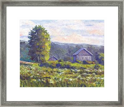Looking South Framed Print by Michael Camp