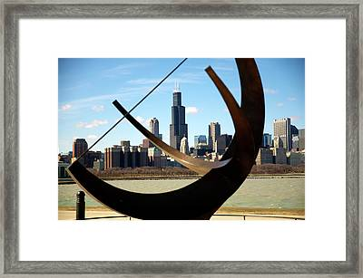 Looking Through Framed Print by Sheryl Thomas