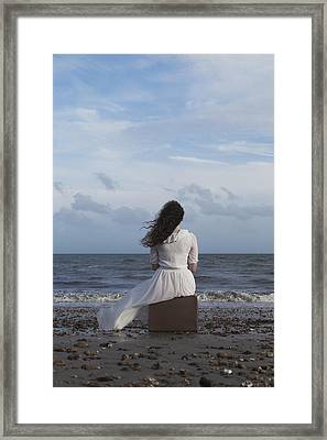 Looking To The Horizon Framed Print by Joana Kruse