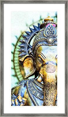 Lord Ganesha Framed Print by Tim Gainey