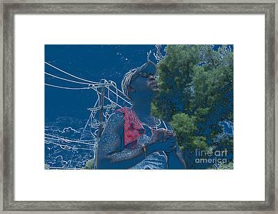 Lord I Need To Eat Framed Print by Joe Jake Pratt
