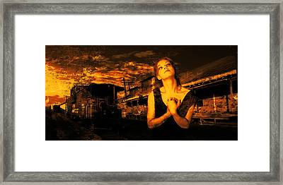 Lord Let Him Come Home From Iraq Framed Print by Jeff Burgess
