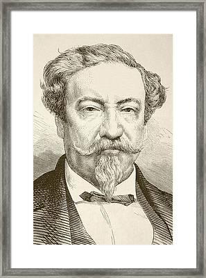 Lorenzo Montufar Y Rivera, 1823 To Framed Print by Vintage Design Pics
