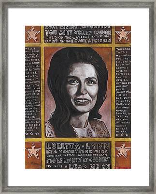 Loretta Framed Print by Ray Stephenson
