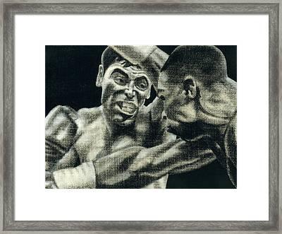 Los Guerreros Framed Print by Roberto Valdes Sanchez