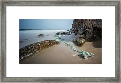 Lossiemouth Beach Framed Print by Buster Brown